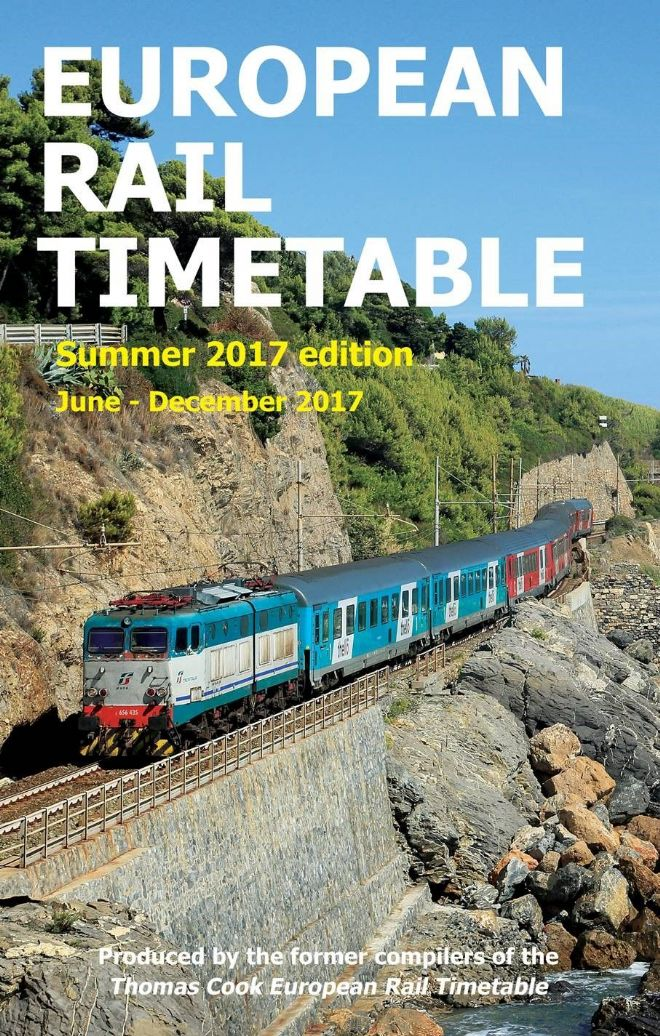 Summer European Rail Timetable 2017 DIGITAL EDITION